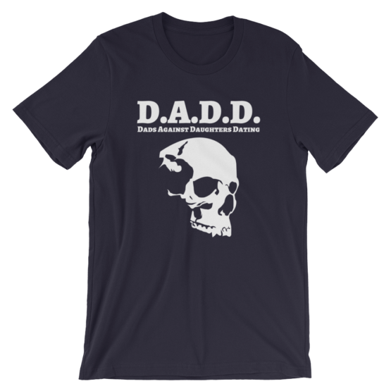 Dads Against Daughters Dating Navy T-Shirt