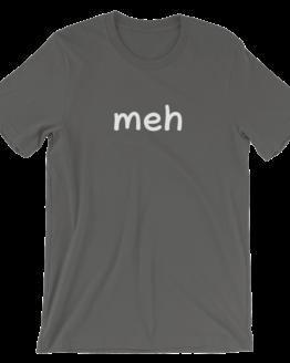 Meh Short Sleeve Jersey Asphalt T-Shirt