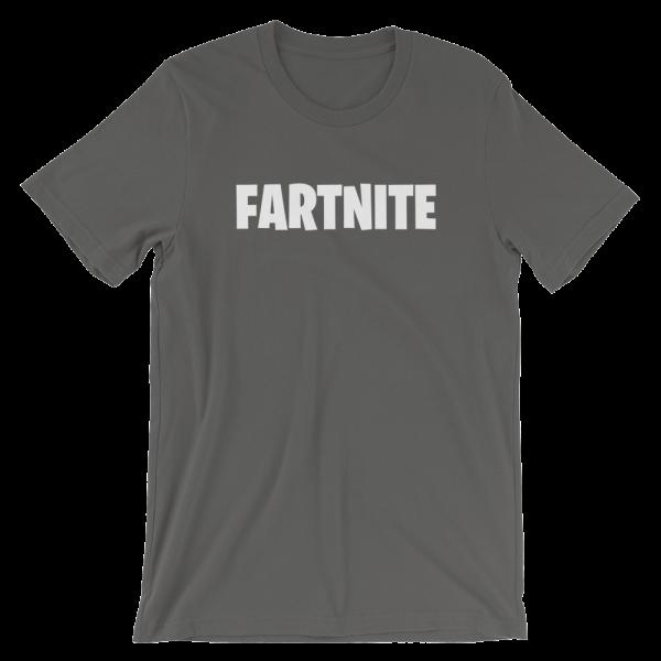 Fartnite Short Sleeve Jersey Asphalt T-Shirt