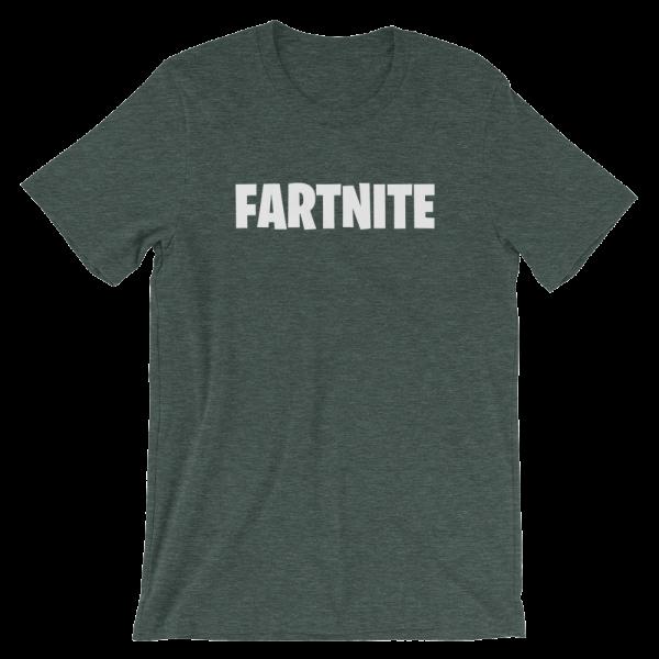 Fartnite Short Sleeve Jersey Green T-Shirt