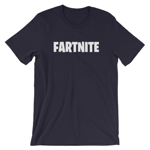 Fartnite Short Sleeve Jersey Navy T-Shirt