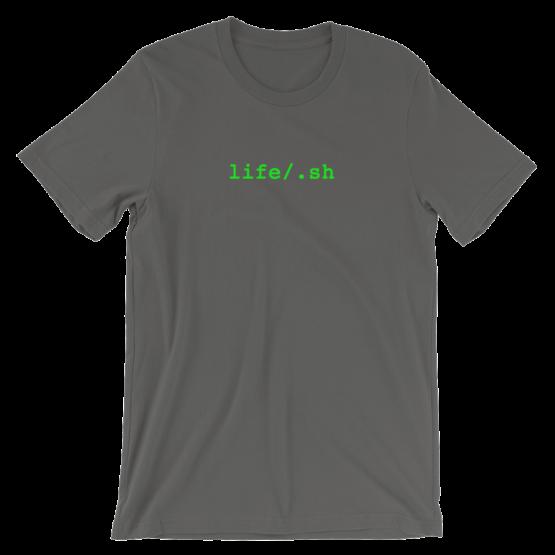 life/.sh Short Sleeve Jersey Asphalt T-Shirt