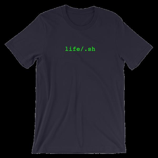 life/.sh Short Sleeve Jersey Navy T-Shirt