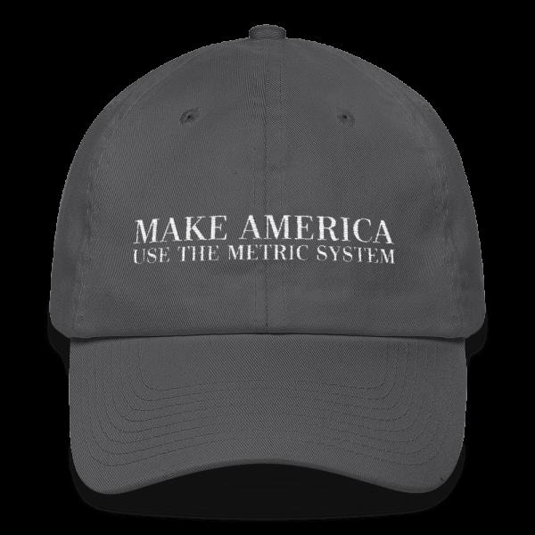 Make America Use The Metric System Asphalt Cap