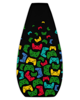 Controller Pattern Gamer Bean Bag Chair Cover