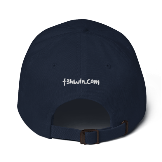 Life Is Code Navy Dad Hat Back