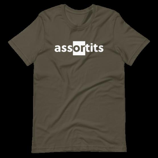 Assortits Short-Sleeve Army Unisex T-Shirt