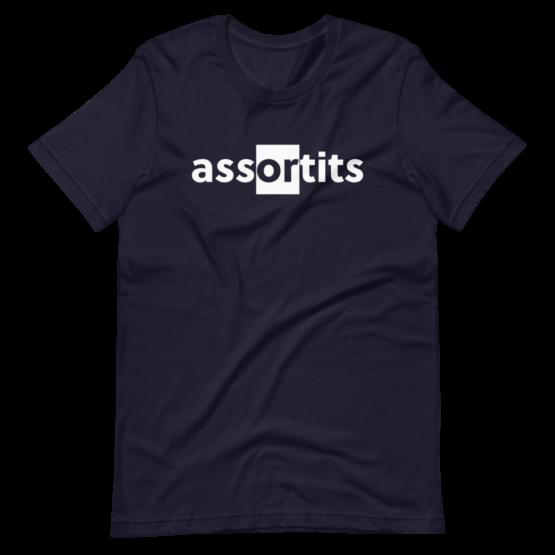 Assortits Short-Sleeve Navy Unisex T-Shirt