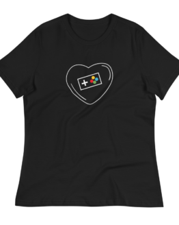 Love Video Games Women's Relaxed T-Shirt