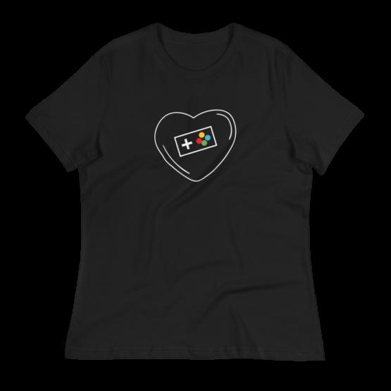 Love Video Games Women's Relaxed T-Shirt
