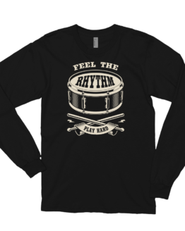 Drum Life Long sleeve t-shirt flat