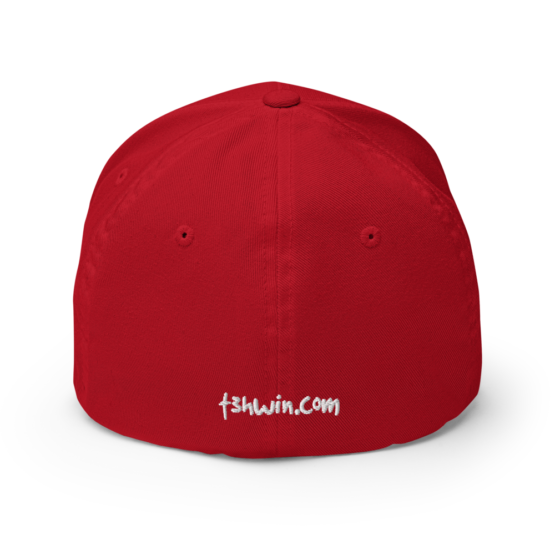 Make America Use The Metric System Structured Twill Cap Red Back