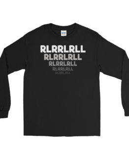 Paradiddle RLRRLRLL Men's Long Sleeve Shirt