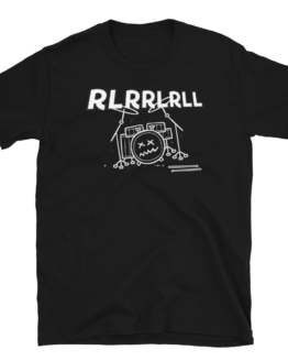 Paradiddle RLRRLRLL Short-Sleeve Unisex T-Shirt Black