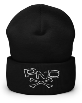 Punk Band PND Cuffed Beanie