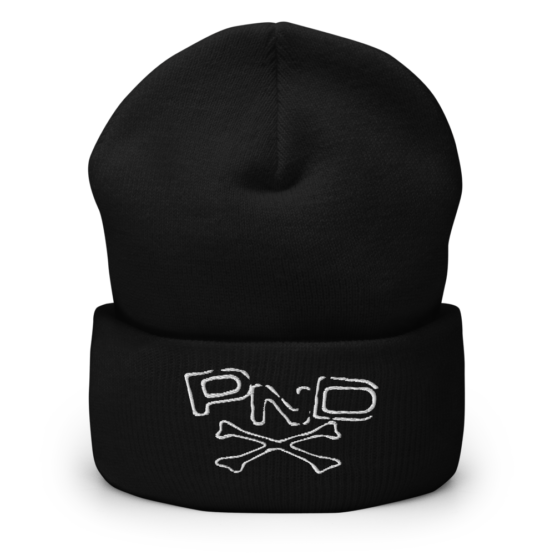 Punk Band PND Cuffed Beanie