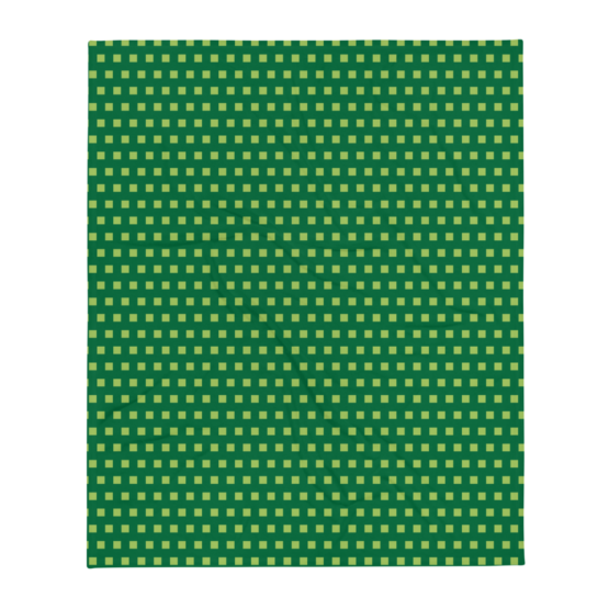 Retro 8 - BIT Throw Blanket flat