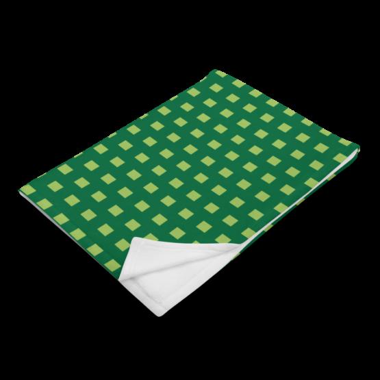 Retro 8 - BIT Throw Blanket folded