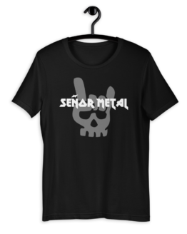Señor Metal Short Sleeve Jersey T-Shirt on hanger