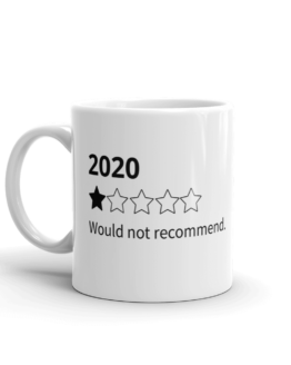 2020 Would not recommend Mug Left side