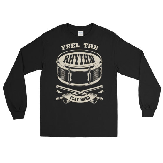 Drum Life Men's Long Sleeve Shirt
