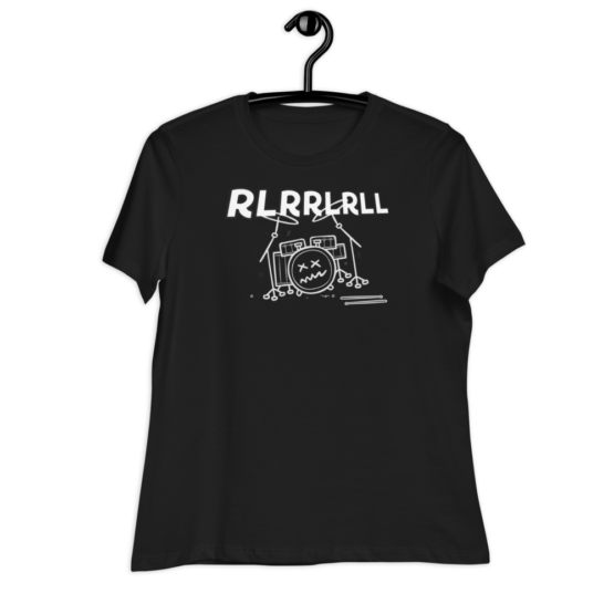 Paradiddle RLRRLRLL Women's Relaxed T-Shirt