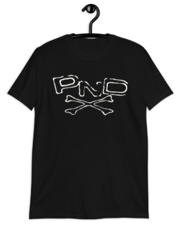 PND Logo Black Short-Sleeve Unisex T-Shirt