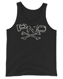Punk Band PND Logo Unisex Premium Black Tank Top