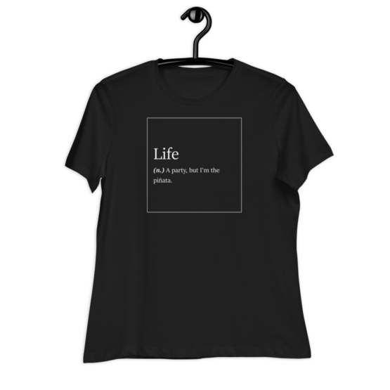Life Explained Women's Relaxed T-Shirt