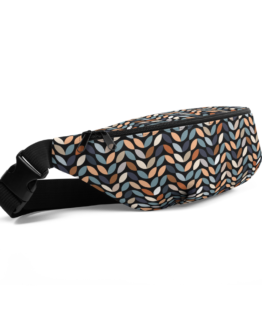 Retro Pattern Fanny Pack Side