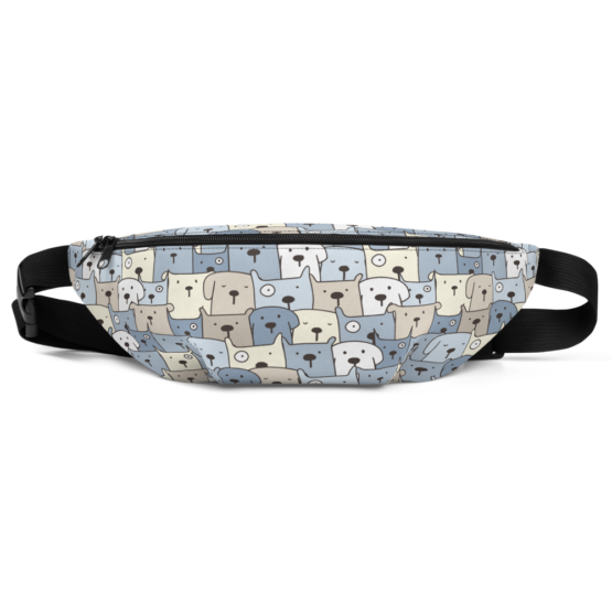 Charming Puppies Fanny Pack Front