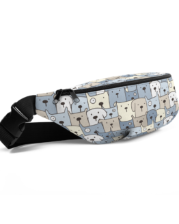 Charming Puppies Fanny Pack Side