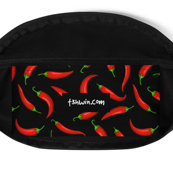 Chilli Peppers Fanny Pack Pocket