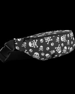 Skull Pattern Fanny Pack Side